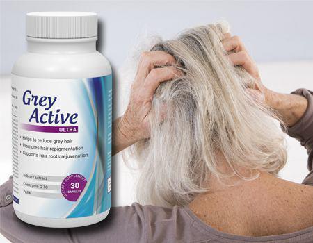 Το Grey Active Ultra εξαλείφει το πρόβλημα των γκρίζων μαλλιών